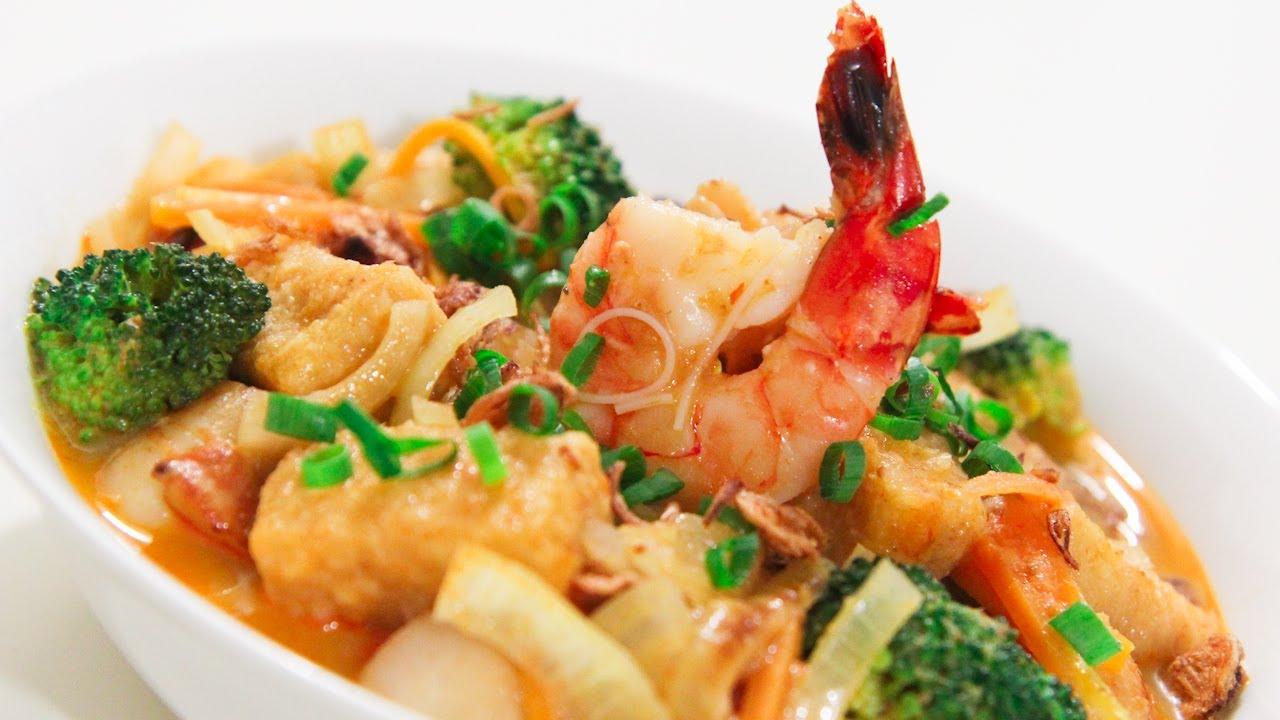 Seafood Curry Recipe (Malaysian Indian-Style) Recipe ...