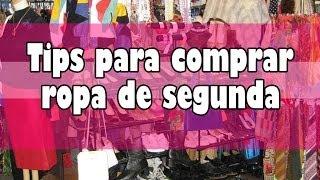 ♥ ¡¡Tips para comprar ropa se segunda!! ♥