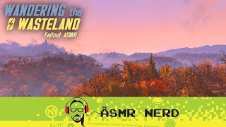 Wandering the Wasteland | Fallout 76 ASMR (whispering, rain, relaxing sounds for sleep)