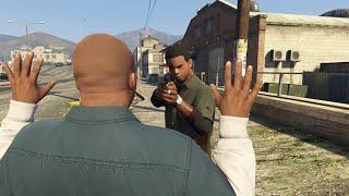 Gta V Lamar kills Franklin
