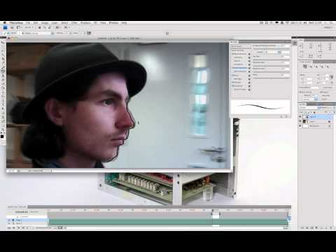 Making Rotoscope Animation using Photoshop