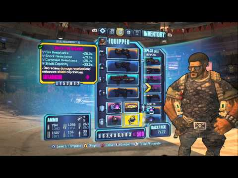 Borderlands 2 - Rampage/Brawn Lv 61 Gunzerker Build - Unstoppable Killing Machine