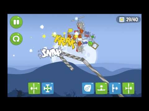 Lightning Storm Disrupts Air Travel In Bad Piggies video