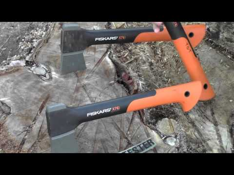 """FISKARS X7 Hatchet: Backpacker s Chainsaw"" by TheGearTester"