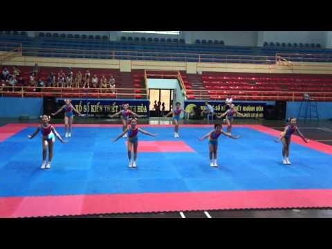 Bài thi thể dục aerobic tiểu học H. Diên khánh-HKPĐ Khánh hòa 2012