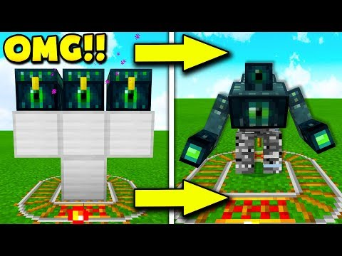 How to Summon THE ENDER GOLEM In Minecraft (Minecraft Pocket Edition)