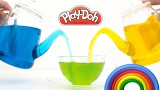 Learn How to Mix Colors Frozen Inside Out Hello Kitty Minions RainbowLearning