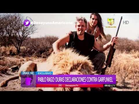 Pablo Rago, ex de Vannucci, se metió en la polémicas fotos de la pareja cazando