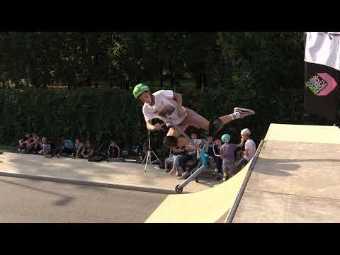 Евгений Климов - любители, KICK & GO scooter fest 20180908