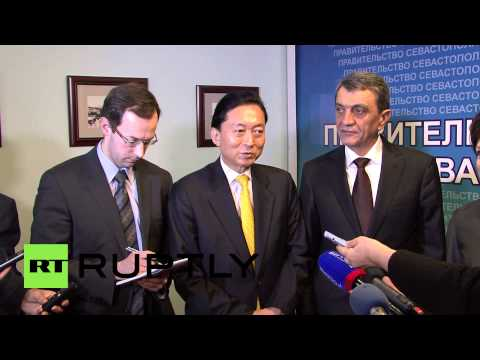 Russia: Former Japanese PM may take up Crimean residency