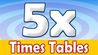 5 x Times Table Math Song
