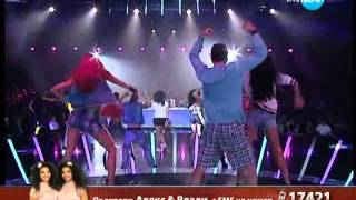 The X Factor Bulgaria Alex & Vladi - Remix of Songs (04.10.2013)