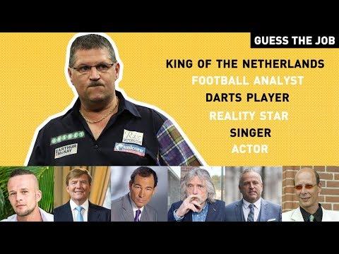 Johan Derksen koning van Nederland!? | GUESS THE JOB.. ANDERSON