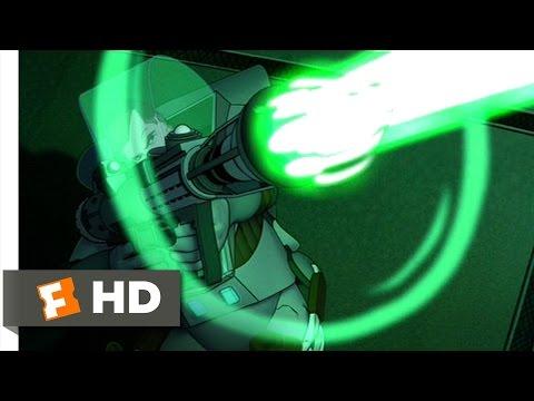 Titan A.E. (3/3) Movie CLIP - Covering Cale (2000) HD