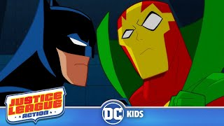 Justice League Action | The Amazing Mister Miracle | DC Kids