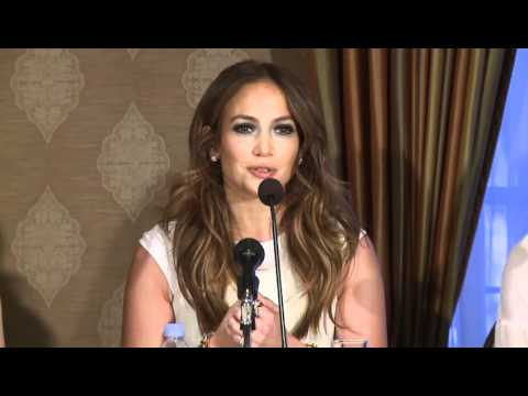 Jennifer Lopez: Press Conference - What To Expect When You're Expecting 1