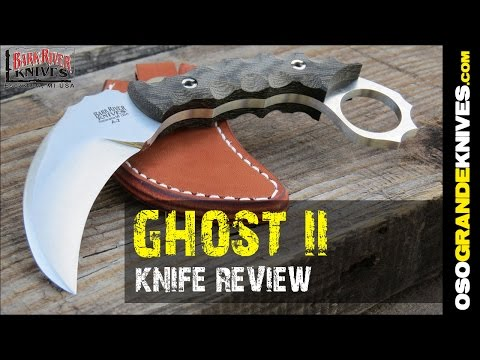 Bark River Knives Ghost II Karambit Knife Review   OsoGrandeKnives