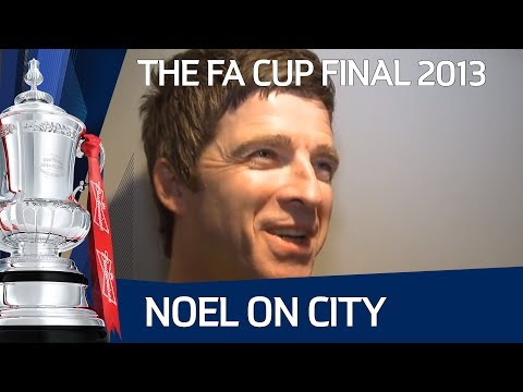 FA Cup Final day with Noel Gallagher and Mike Pickering, Wigan vs Manchester City
