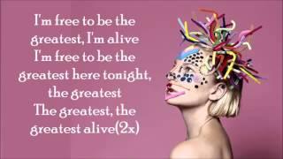 Sia - The Greatest (Official Lyrics)