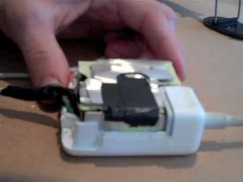 How To Fix a MacBook Power Adapter/Supply - DIY. EASY