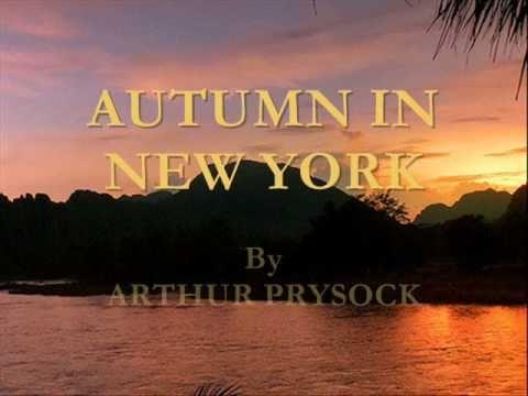 Arthur Prysock - Autumn In New York