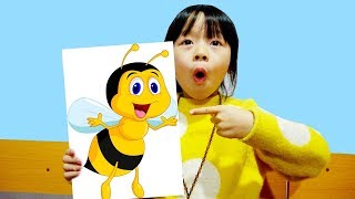 Hunter Kids Go To School Learn Colors Bee | Classroom Funny Nursery Rhymes