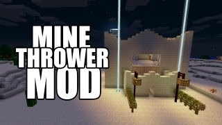 Minecraft MOD Review - MineThrower [1.4.7]