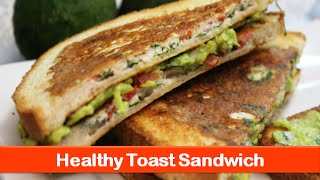 Healthy sandwich food ideasegg white avocado brunc