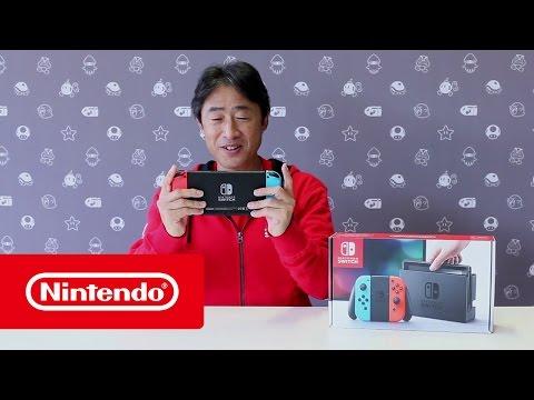 Nintendo Switch - Unboxing door Satoru Shibata