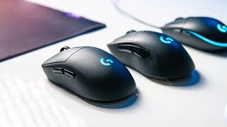 Trying the Ultimate Gaming Mouse - Logitech G Pro Wireless!