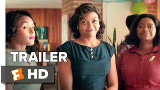 Hidden Figures Official Trailer 2 (2017) - Taraji P. Henson Movie