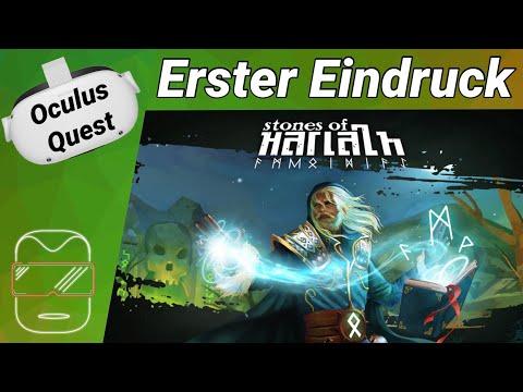 Oculus Quest 2 [deutsch] Stones of Harlath VR: Erster Eindruck   Oculus Quest 2 Games deutsch