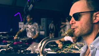 Red D feat. Lady Linn, Gustaph & Saxman at Tomorrowland 2012