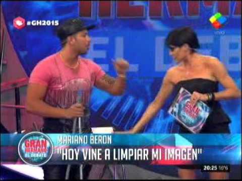 """#GH2015: Mariano Berón: """"Hoy vine a limpiar mi imagen"""""""