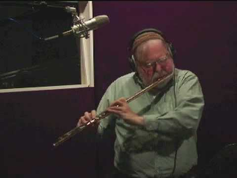 Jazz flutist plays Wave