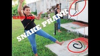 CRAZY SNAKE PRANK ON GIRLFRIEND !! (MUST WATCH)