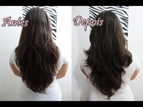Como cortar o cabelo em casa sem tirar o comprimento!