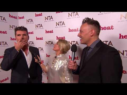 Simon Cowell is going to burn David Walliams Award - National Television Awards 2015