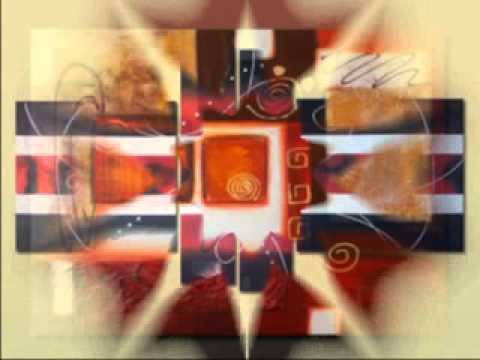Cuadros modernos cuadros abstractos cuadros pintados a for Imagenes cuadros abstractos modernos