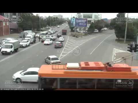 ДТП на ул. Красных партизан и ул. 2-я Линия 13.10.15