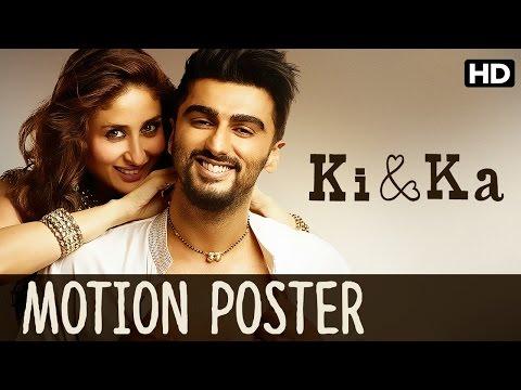 Ki & Ka Official Motion Poster | Kareena Kapoor, Arjun Kapoor | R. Balki