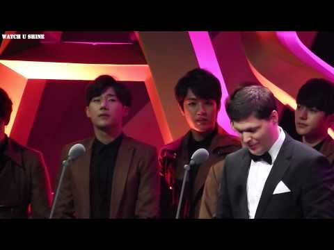 150325 Asia Film Awards in Macao-발표자 INFINITE-우현focus