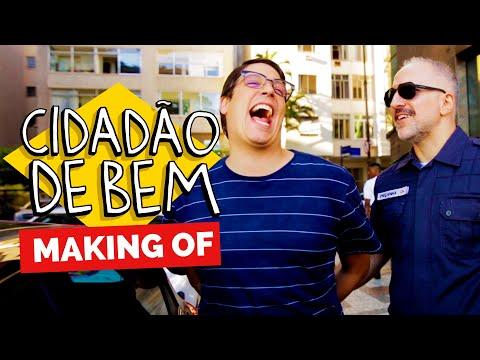 MAKING OF - CIDADÃO DE BEM Vídeos de zueiras e brincadeiras: zuera, video clips, brincadeiras, pegadinhas, lançamentos, vídeos, sustos