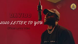 Davido - 2020 Letter for you - {Official Lyrics Video}