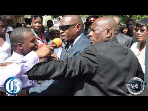 Jamaica Now: Vybz Kartel Murder Trial Begins... Reporter Shoved... J'cans Denied Entry To T&t video