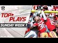 Top Plays from Sunday Week 1 | NFL Highlights