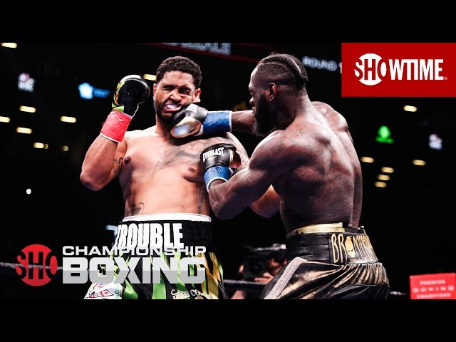 Deontay Wilder KOs Dominic Breazeale in Round 1 | SHOWTIME CHAMPIONSHIP BOXING thumbnail