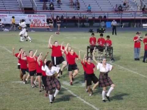 Pandora dancing in Dunedin Highland Middle School Highland Dance/Band