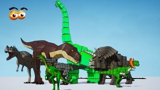 CUBE BUILDER for KIDS (HD) - Learn & Build Various Dinosaurs for Children 1 - AApV