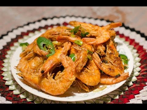 Salt and Pepper Shrimp recipe by Annie Vang - YouTube